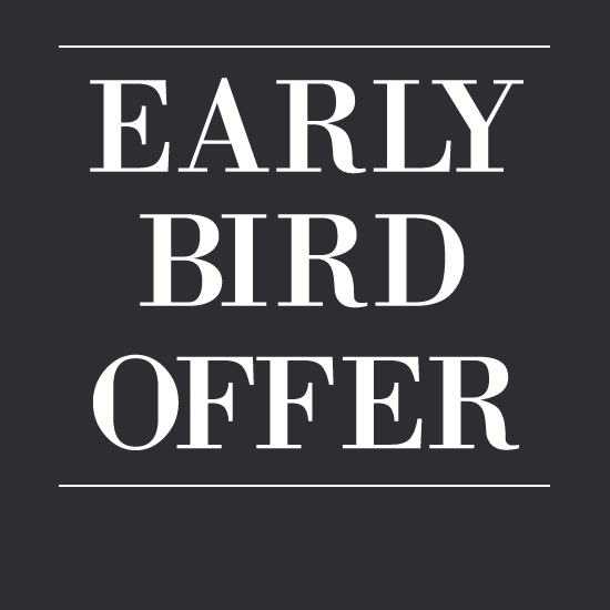 Early Bird Offer for Heritage Park